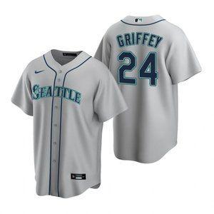 Youth Seattle Mariners Ken Griffey Jr. Jersey Gray